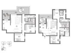 לופט 5 חדרים - דגם G1