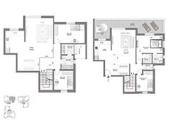 לופט 5 חדרים - דגם H