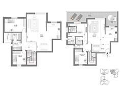 לופט 5 חדרים - דגם J