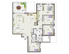 דירת 5 חדרים | קומות 1-9