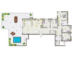 פנטהאוז 6 חדרים | קומה 13