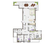 מיני פנטהאוז 5 חדרים | קומות 14-16