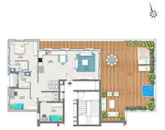 דירת 4 חדרים דגם E | מגרש 120
