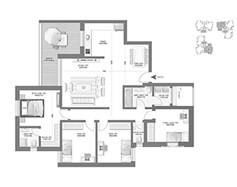 דירת 5 חדרים - דגם D