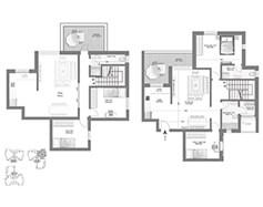 לופט 5 חדרים - דגם G