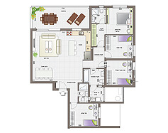 דירת 5 חדרים | קומות 10-12