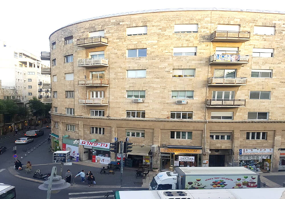 קינג ג'ורג', ירושלים