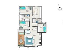 דירת 5 חדרים דגם A | מגרש 119