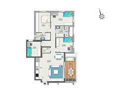 דירת 5 חדרים דגם A1 | מגרש 119